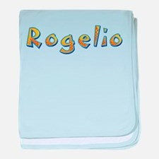 Rogelio Giraffe baby blanket