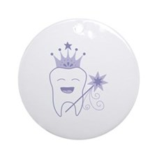 Tooth Fairy Ornament (Round)