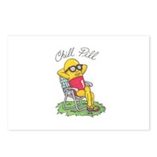 Chill Pill Postcards (Package of 8)