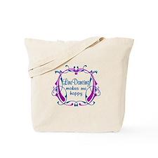 Line Dancing Happiness Tote Bag
