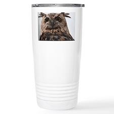 Long Eared Owl Travel Mug