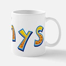 Rhys Giraffe Mugs