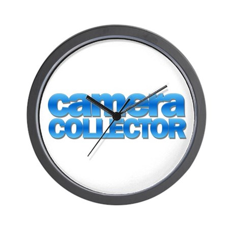 """Camera Collector"" Wall Clock"