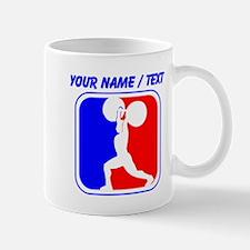 Custom Weightlifting League Logo Mugs