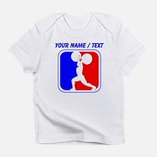 Custom Weightlifting League Logo Infant T-Shirt