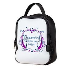 Gymnastics Happiness Neoprene Lunch Bag