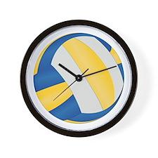 Volleyball - No Txt Wall Clock