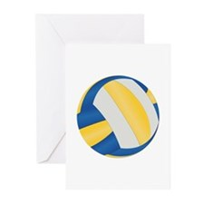 Volleyball - No Txt Greeting Cards (Pk of 20)