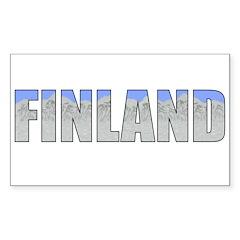 Finland Rectangle Sticker