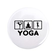 """Yoga exercise 3.5"""" Button (100 pack)"""