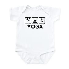 Yoga exercise Infant Bodysuit