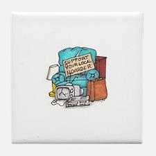 Hoarder Tile Coaster