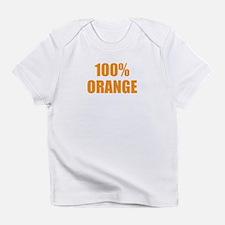 100% Orange Infant T-Shirt