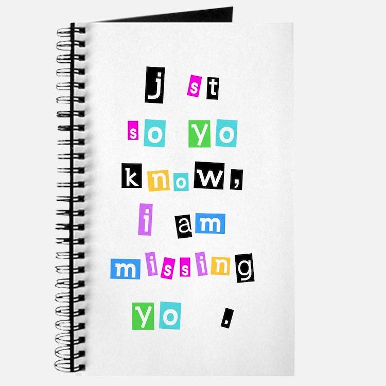 Missing U Journal