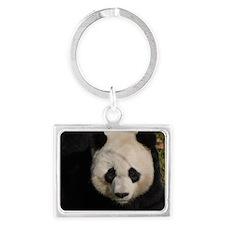 Cute Panda Landscape Keychain