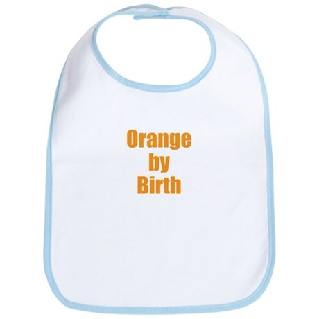 Orange by Birth Bib
