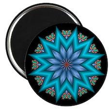 Blue Starflower Magnet