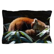 Sleeping Red Panda Pillow Case