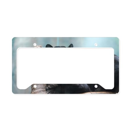 Black Panther License Plate Holder By Listing Store 111291965