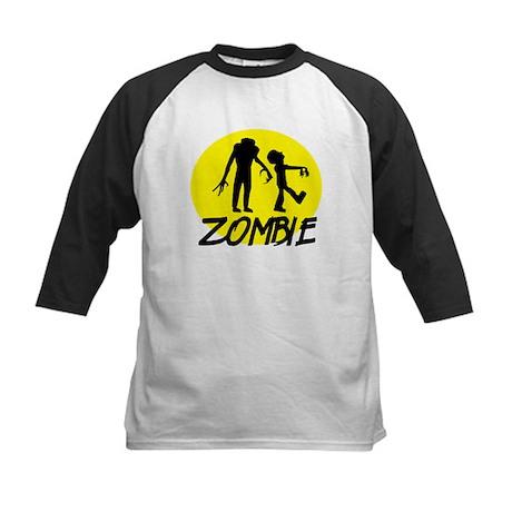 Zombie moon Kids Baseball Jersey