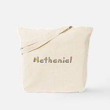 Nathanial Giraffe Tote Bag