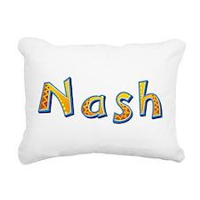 Nash Giraffe Rectangular Canvas Pillow