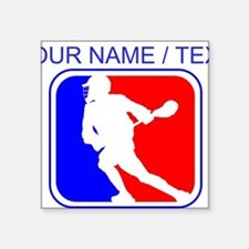 Custom Lacrosse League Logo Sticker