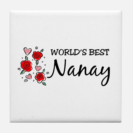 WB Mom [Ilongo] Tile Coaster