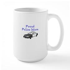 Proud Police Mom Mugs
