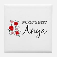WB Mom [Hungarian] Tile Coaster
