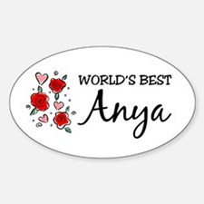WB Mom [Hungarian] Oval Decal