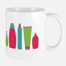 Toiletries Bottles Styling Products Mugs