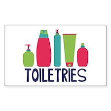 Toiletries Decal