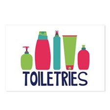 Toiletries Postcards (Package of 8)
