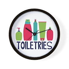 Toiletries Wall Clock