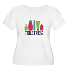 Toiletries Plus Size T-Shirt