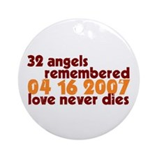 32 Angels Ornament (Round)