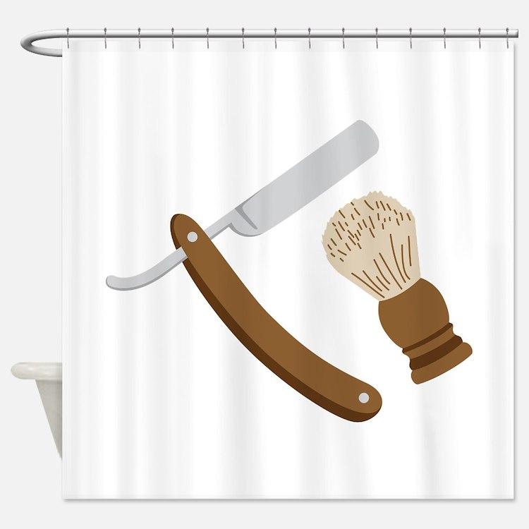 Razors Shower Curtains