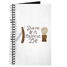 Shave A Haircut Journal