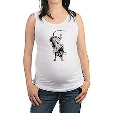 Bull Rider 2 Maternity Tank Top