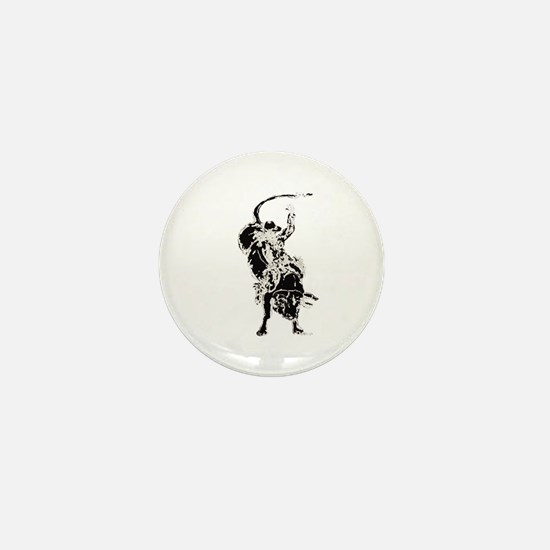 Bull Rider 2 Mini Button (100 pack)