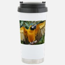 Macaw Wings Stainless Steel Travel Mug