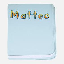 Matteo Giraffe baby blanket
