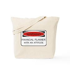 Attitude Financial Planner Tote Bag