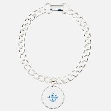 Anchors Away Charm Bracelet, One Charm