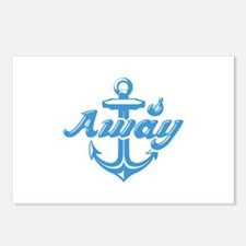 Anchors Away Postcards (Package of 8)