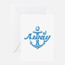 Anchors Away Greeting Card