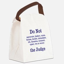 Do Not Irk ... Canvas Lunch Bag