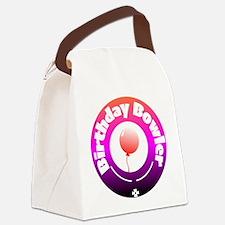 Birthday Bowler Canvas Lunch Bag