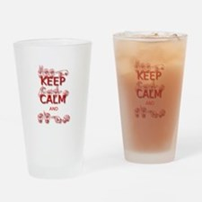 Keep Calm and Sign -in Sign Language Drinking Glas